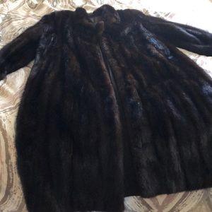 natural mink skin